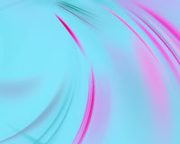 Pink blue abstract wave psychedelic background. Fractal artwork for creative design Stock Image