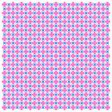Pink-blue geometric seamless pattern. Vector image. Eps 10 Stock Illustration