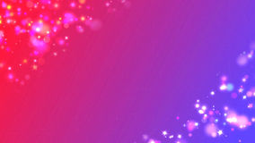 Pink-blue gradient sparcle corners background. Stock Photography