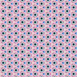 Pink, blue and gray pattern Royalty Free Stock Images