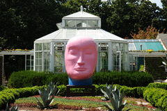 Kaneko Ceramic Art Exhibit at the Dixon Gallery and Gardens in Memphis, Tennessee Royalty Free Stock Photo