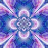 Pink and Blue Kaleidoscope Royalty Free Stock Image
