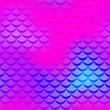 Pink blue mermaid  background. Electric iridescent background. Stock Photography