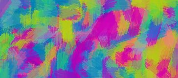 Pink blue purple and green painting texture abstract Royalty Free Stock Image