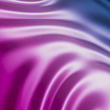 Pink and blue silk Royalty Free Stock Images