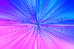 Pink and blue space teleportation blast illustration background. Hd Royalty Free Stock Images