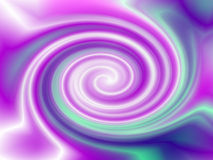 Pink Blue Swirl Abstract Vortex Background Stock Image