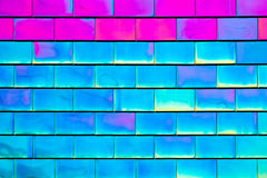 Pink and Blue Tiles Background Royalty Free Stock Photo