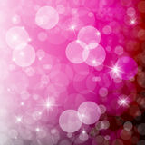 Pink Blurred Bokeh Background Pattern Royalty Free Stock Photo