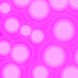 Pink blurred light background with bokeh effect. Vector Stock Images