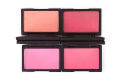 Pink blush palettes Royalty Free Stock Photo