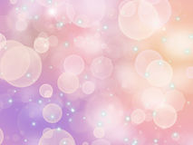 Pink bokeh. Pink background with areas of light and glare royalty free illustration