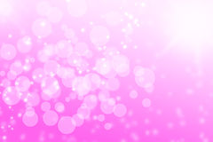 Pink bokeh Royalty Free Stock Image