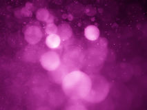 Pink bokeh abstract background and texture Royalty Free Stock Images