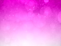 Pink bokeh abstract background and texture Stock Photography