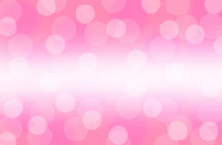 Bokeh pink abstract background wallpaper Stock Images