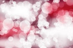 Pink Bokeh Background Stock Photo
