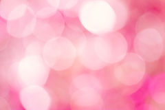 Pink bokeh background Royalty Free Stock Images