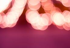 Pink bokeh background Royalty Free Stock Photo