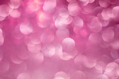 Pink Bokeh Background. The background with boke. Abstract texture. Color circles. Blurred Royalty Free Stock Images