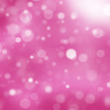 Pink bokeh background Stock Images