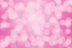 Pink bokeh light Royalty Free Stock Photography