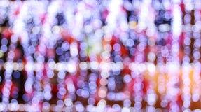 Pink bokeh lights Stock Image