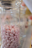 Pink bonbons , sweets Stock Photography