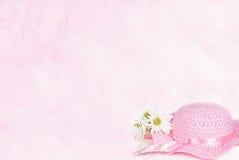Pink Bonnet Stock Image