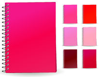 Pink book Royalty Free Stock Photography