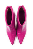 Pink boots Royalty Free Stock Photography