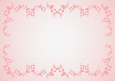 Pink border Royalty Free Stock Photography