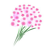 Pink bouquet abstract Stock Photo