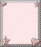 Pink Boutique Layout Stock Image