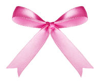 Pink Bow stock photo