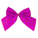 Pink Bow Royalty Free Stock Photos