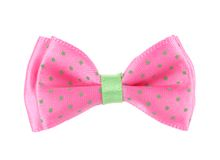 Pink bow tie. Royalty Free Stock Images