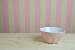 Pink Bowl in Kitchen Stock Photography