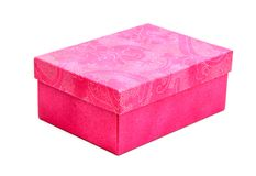 Pink box Royalty Free Stock Images