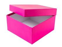 Pink box Stock Photo
