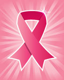 Pink Breast Cancer Ribbon Royalty Free Stock Photography
