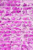 Pink brick abstract texture background Royalty Free Stock Photo