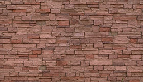 Pink brick wall background or texture Royalty Free Stock Photos