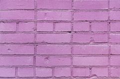 Pink brick wall Stock Photos