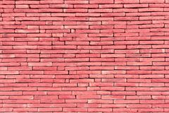 Free Pink Brick Wall For Texture And Background Stock Photo - 115580370