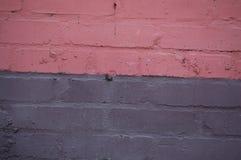 Pink brick wall. Texture colorful brickwork Royalty Free Stock Photo