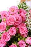Pink Bridal Bouquet Stock Photo