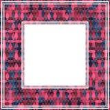 Pink bright border Stock Photo
