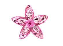 Pink Brooch Royalty Free Stock Photo