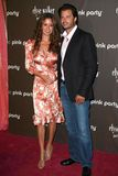 Pink,Brooke Burke,David Charvet Royalty Free Stock Photography